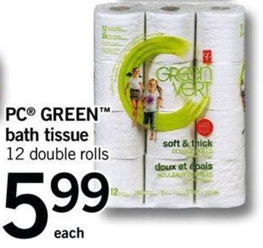 PC Green Bath Tissue