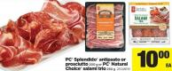 PC Splendido Antipasto Or Prosciutto - 200 G Or PC Natural Choice Salami Trio - 250 G