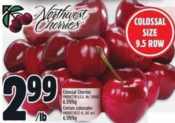 Colossal Cherries