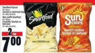 Smartfood Popcorn 150 - 220 g or Sunchips Or Rold Gold Chips 215 - 400 g