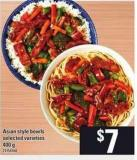 Asian Style Bowls - 400 g