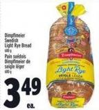 Dimpflmeier Swedish Light Rye Bread 680 g
