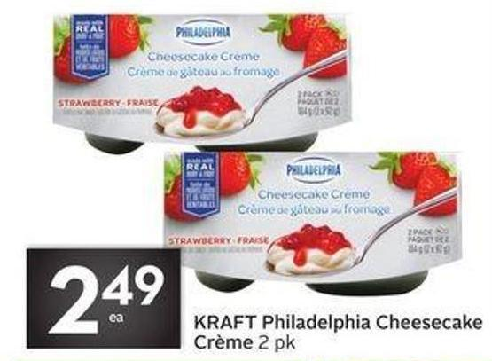 Kraft Philadelphia Cheesecake Crème