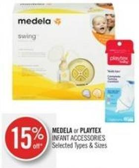 Medela or Playtex Infant Accessories