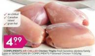 Compliments Air-chilled Chicken Thigh