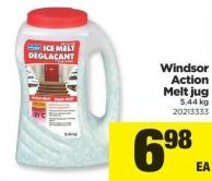 Windsor Action Melt Jug - 5.44 Kg