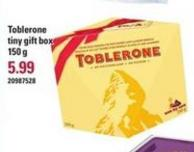 Toblerone Tiny Gift Box - 150 g