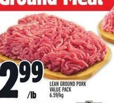 Lean Ground Pork Value Pack