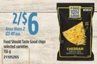 Food Should Taste Good Chips - 156 g
