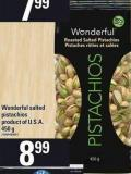 Wonderful Salted Pistachios - 450 g