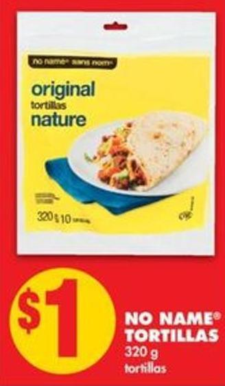 No Name Tortillas - 320 g