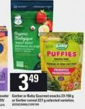Gerber Or Baby Gourmet Snacks - 23-150 G Or Gerber Cereal - 227 G