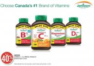 Jamieson Vitamin B - C - D or Mineral Products