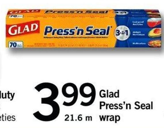 Glad Press'n Seal Wrap - 21.6 M