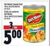 Del Monte Canned Fruit | Fruits En Conserve Del Monte