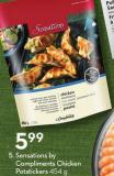 Sensations By Compliments Chicken Potstickers 454 g