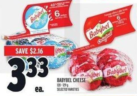 Babybel Cheese