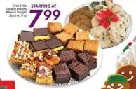 Grab & Go Cookie Lover's Bliss or Delight Squared Tray