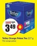 Tetley Orange Pekoe Tea 227 g