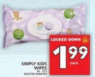 Simply Kids Wipes