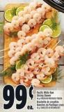 Pacific White Raw Shrimp Skewer 46 g