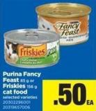 Purina Fancy Feast - 85 G Or Friskies - 156 G Cat Food