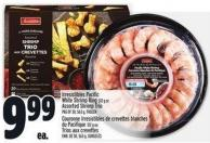 Irresistibles Pacific White Shrimp Ring 312 G Or Assorted Shrimp Trio Pkg Of 30 - 563 G