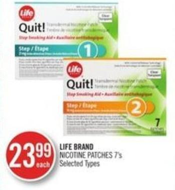 Life Brand Nicotine Patches