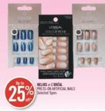 Helios or L'oréal Press-on Artificial Nails
