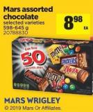 Mars Assorted Chocolate - 598-645 g