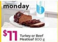 Turkey or Beef Meatloaf