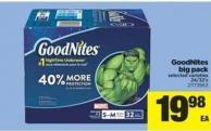 Goodnites Big Pack - 24/32's