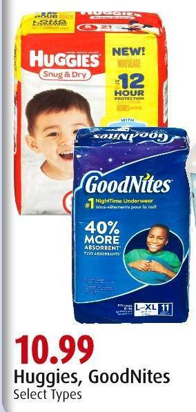 Huggies - Goodnites