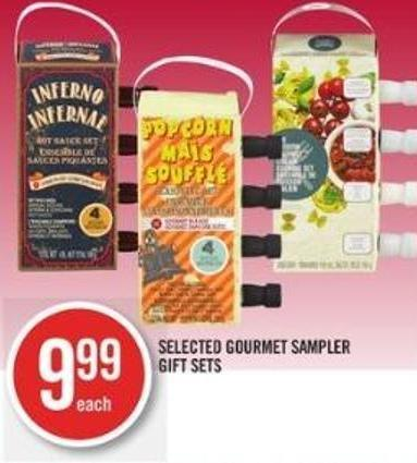 Selected Gourmet Sampler Gift Sets