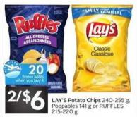 Lay's Potato Chips - 20 Air Miles Bonus Miles