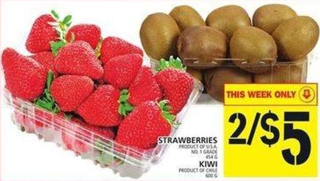 Strawberries Or Kiwi