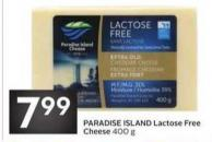 Paradise Island Lactose Free Cheese