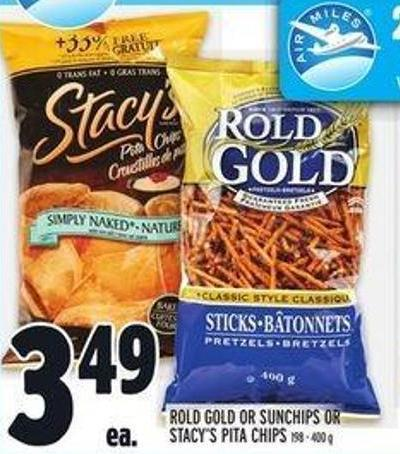 Rold Gold Or Sunchips Or Stacy's Pita Chips