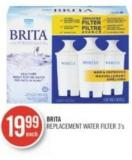 Brita Replacement Water Filter 3's