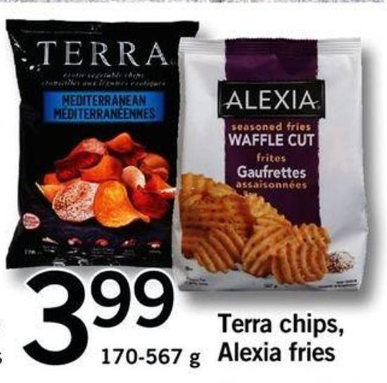 Terra Chips - Alexia Fries - 170-567 G