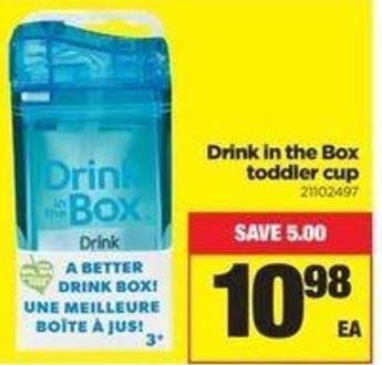 Drink In The Box Toddler Cup