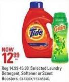 Selected Laundry Detergent - Softener or Scent Boosters