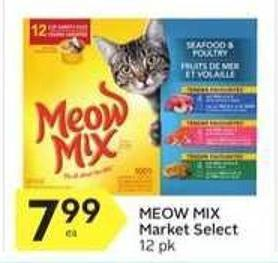 Meow Mix Market Select