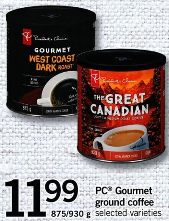 PC Gourmet Ground Coffee - 875/930 G