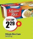 Minute Rice Cups 2x125 g