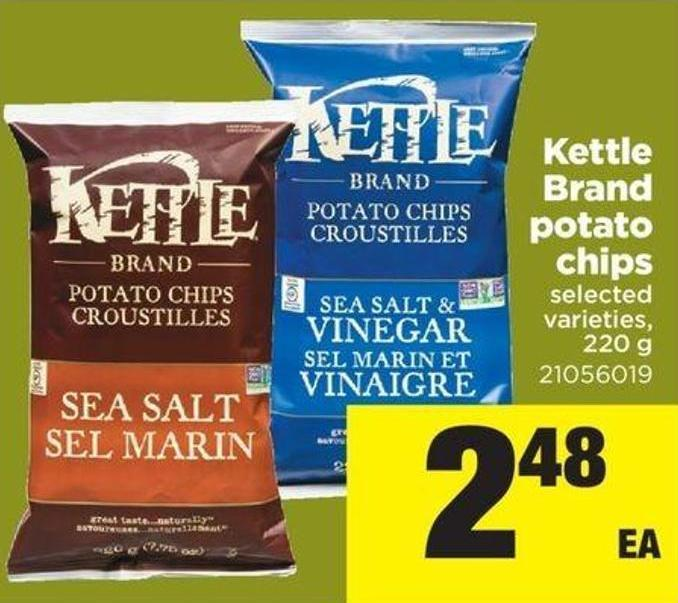 Kettle Brand Potato Chips - 220 G