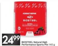 Biosteel Natural High Performance Sports Mix