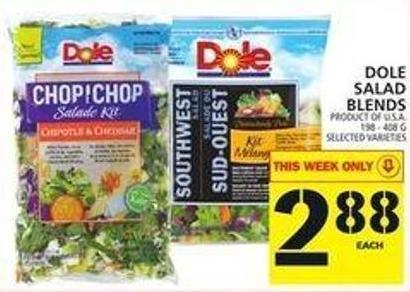Dole Salad Blends