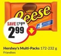 Hershey's Multi-packs 172-232 g
