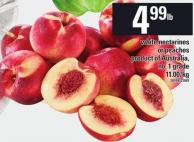 White Nectarines Or Peaches